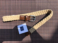 Janie and Jack Boys Kids Beige Braided Belt Size 2T-3T NEW Toddler