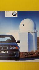 BMW 3 Series 318i 320i 330d 330i 320d 325i sales brochure catalogue 2000 MINT
