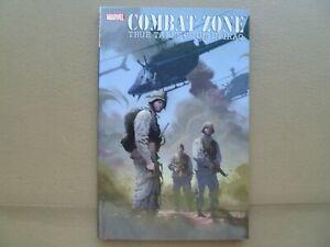 Combat Zone: TRUE TALES OF GIs IN IRAQ  Marvel Comics  TPB  2005