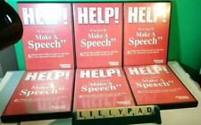 Help I've Got to Make a Speech by Peter Thomson Step by Step  6 x Audio CDs