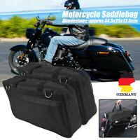 2xMotorrad Innentaschen Satteltaschen Seitentaschen Touring Gepäcktaschen Koffer
