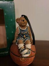 Rare Christmas Ornament Boyds Bears Basketball Bear #1 Button Nutin' But Net '04
