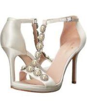 Kate Spade New York Womens Freya Wedding Heel's Ivory UK 7.5 EU 40.5 NH07 68