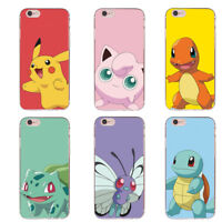 Cartoon TPU phone Case Cutte pattern Cover For iPhone 6 6s 7 Plus 5 SE J