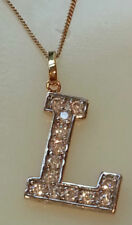 Unbranded Cubic Zirconia Silver Plated Costume Necklaces & Pendants