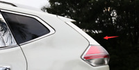 2x ABS Chrome Rear Window Spoiler Cover Garnish For Nissan X-Trail T32 2014-2017