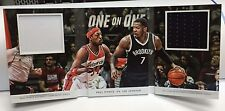 Paul Pierce vs Joe Johnson 2014-15 Preferred One 1 on 1 One BOOK GU Jersey #d/99