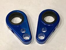 Billet Blue Front A-Arm Brake Line Clamps Honda TRX 400EX 400X 700XX TRX450ER