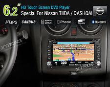 AUTORADIO NISSAN QASHQAI JUKE NAVIGATORE GPS DVD USB SD MP3 BLUETOOTH XTRONS