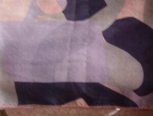 NAVY,  GREEN, BEIGE & BLUE RECTANGLE TABLECLOTH
