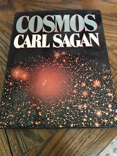1980 Cosmos By Carl Sagan Random House HC/DJ