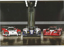 POST CARDS CARS PHOTO TOYOTA TS010,TS030,TS020