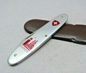 Victorinox /  Zurich 84mm popular Swiss Army Knife Silver Alox