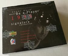 1995-96 (1996) Upper Deck Be a Player Signature Collection Hockey Box