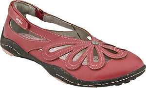 New Jambu Blush - Barefoot  red women's shoes size 6.5