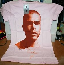 Maxwell Extra Small Girls Pink T-Shirt 2008 Tour Clothes Portrait Face  NEW!