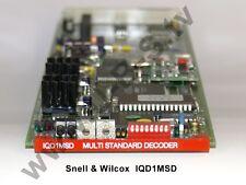 Snell & wilcox iqd1msd-Multi standard décodeur (pal/pal-N/pal-M/NTSC/secam)