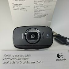 Logitech C525 Web Camera, 720 HD, 8 MP, Auto Focus, 360 Degree, Microphone