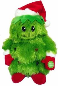 Animated Rockin Around Christmas Tree Plush Lights Dance Sing Batteries Included