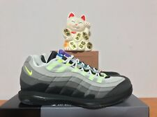 Nike Zoom Vapor RF Roger Federer x AM 95 Greedy Black Volt New 8 [AO8759-077]