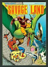 The Savage Land ~ 1st Print Trade Paperback  ~ NM Near Mint ~ Marvel 1987