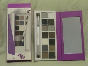 Clinique 'Party Eyes' Neutral Eye Shadow Palette NIB 14 Shades w/Brush NIB