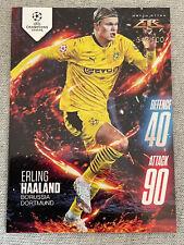 Erling Haaland Topps Match Attax Fire Card 344/500  Borussia Dortmund 2020-21