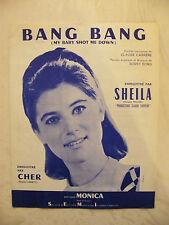Partition Sheila Bang Bang My baby shot me down Cher