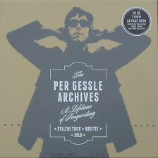 Box The Per Gessle Archives 10 CD, Vinyl + Buch,Roxette, Gyllene Tider