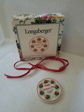 Longaberger 1998 Mothers Day Tie on