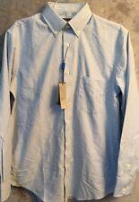 New COVINGTON Easy Care Classic Fit Oxford Dress Shirt Sz S 14 1/2 32/33  #co1