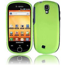 For Samsung Gravity Smart Rubberized Hard Protector Case Cover Rubber Neon Green