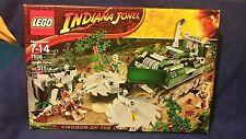 BNISB LEGO Indiana Jones Kingdom of the Crystal Skull Jungle Cutter 7626