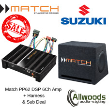 Match Amp and Sub Package PP62DSP+PP 7E-D + FREE PP-AC Harness Suzuki Alto