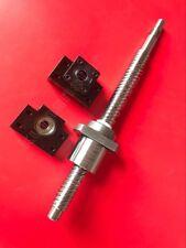 1 anti backlash 20mm ballscrew RM2020-1150mm-C7+BK/BF15 end support bearing CNC