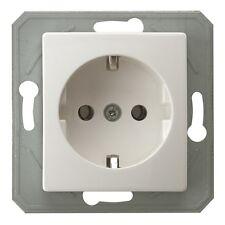 Düwi Steckdose ohne Kinderschutz Serie Eco 6 Stück Elektro Neu Strom Neuware