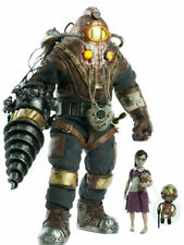 """Bioshock 2 Delta And Little Sister Daddy DELUXE Version Figure Statue SET 12.99"""""""