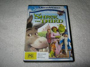 Shrek The Third - VGC - DVD - R4