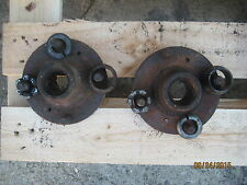 MGB GT  ROADSTER or  V8 STEEL WHEEL REAR AXLE  HUBS SECOND HAND USED
