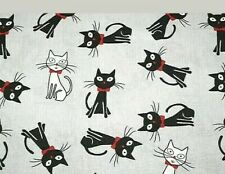 100/% Cotton Fabric Studio E Mini Tossed Cats Kittens Playing Mouse