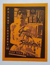 JANE'S ADDICTION Original Concert Flyer poster 1986 Black Radio Hollywood RARE!!