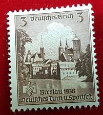 Deutsches Reich 3 Pfennig 665 Breslau 1938 Turn-Sportfest Postfrisch (1C2)