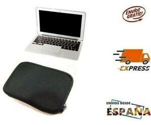 """FUNDA DE NEOPRENO bolsa con cremallera para MacBook Air 13 pulgadas 13,3"""" negra"""