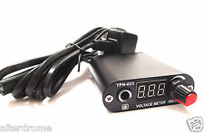 New Compact Travel Convention Black Foot Switchless Tattoo Power Supply