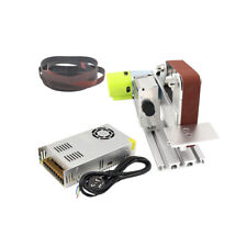 220V Electric Mini Polishing Sanding Machine Bench Sander Belt Grinding Machine