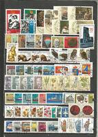 DDR 1982 gestempelt kompletter Jahrgang + alle Einzelmarken  gute  Stempel