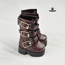 1/6 BJD Shoes Yosd Brown Boots Dollfie DREAM DOD SOOM MID Luts Dollmore AOD 0303