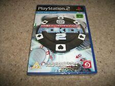 WORLD CHAMPIONSHIP POKER 2 (Sony PlayStation 2 / PS2, 2007) NEW & SEALED