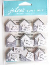 JOLEE'S BOUTIQUE STICKERS - MR & MRS ENVELOPES REPEATS wedding