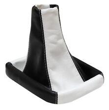 Soufflet de levier vitesse blanc/noir zm pour PEUGEOT 806